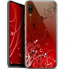 "Extra Slim Gel Xiaomi Redmi 7 (6.26"") Case Love Hearts Flowers"