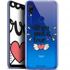 "Extra Slim Gel Xiaomi Redmi 7 (6.26"") Case Love All U Need Is"