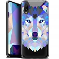 "Extra Slim Gel Xiaomi Redmi 7 (6.26"") Case Polygon Animals Wolf"