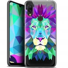 "Extra Slim Gel Xiaomi Redmi 7 (6.26"") Case Polygon Animals Lion"
