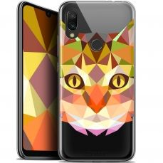 "Extra Slim Gel Xiaomi Redmi 7 (6.26"") Case Polygon Animals Cat"