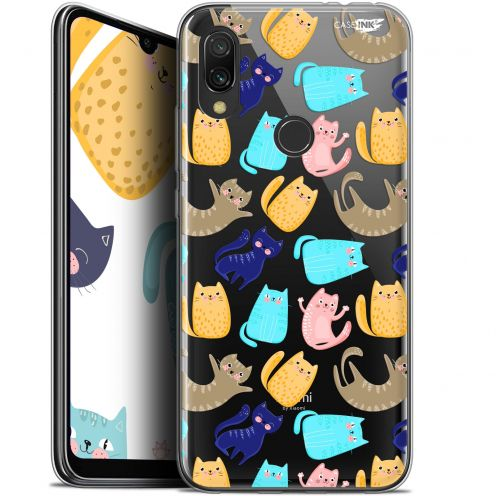"Extra Slim Gel Xiaomi Redmi 7 (6.26"") Case Design Chat Danse"