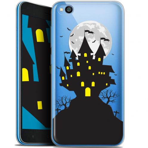 "Extra Slim Gel Xiaomi Redmi Go (5"") Case Halloween Castle Scream"