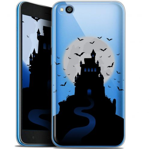 "Extra Slim Gel Xiaomi Redmi Go (5"") Case Halloween Castle Nightmare"