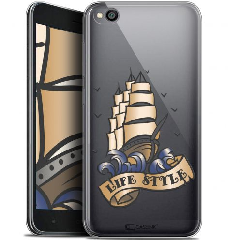 "Extra Slim Gel Xiaomi Redmi Go (5"") Case Tatoo Lover Fashion"