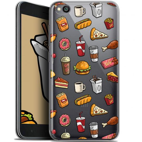 "Extra Slim Gel Xiaomi Redmi Go (5"") Case Foodie Fast Food"