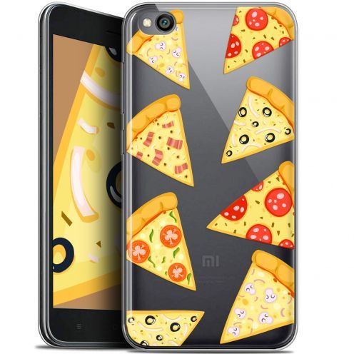 "Extra Slim Gel Xiaomi Redmi Go (5"") Case Foodie Pizza"