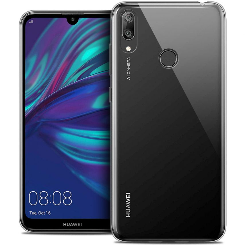 """Extra Slim 1mm Crystal Clear Y7 / Prime / Pro 2019 Flexible Case Huawei Y7 / Prime / Pro 2019 (6.26"""")"""