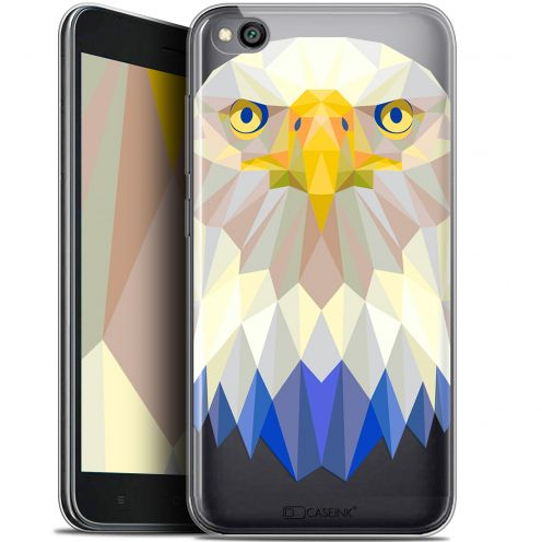 "Extra Slim Gel Xiaomi Redmi Go (5"") Case Polygon Animals Eagle"