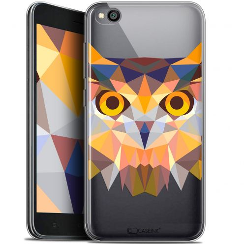 "Extra Slim Gel Xiaomi Redmi Go (5"") Case Polygon Animals Owl"