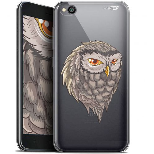 "Extra Slim Gel Xiaomi Redmi Go (5"") Case Design Hibou Draw"