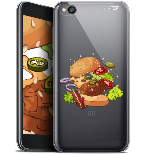 "Extra Slim Gel Xiaomi Redmi Go (5"") Case Design Splash Burger"