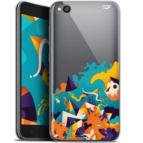 "Extra Slim Gel Xiaomi Redmi Go (5"") Case Design Les Vagues"