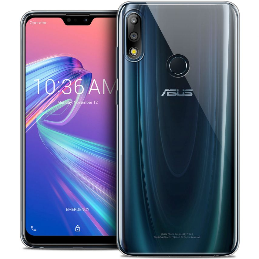 """Extra Slim 1mm Crystal Clear Zenfone Max Pro (M2) ZB631KL Flexible Case Asus Zenfone Max Pro (M2) ZB631KL (6.26"""")"""