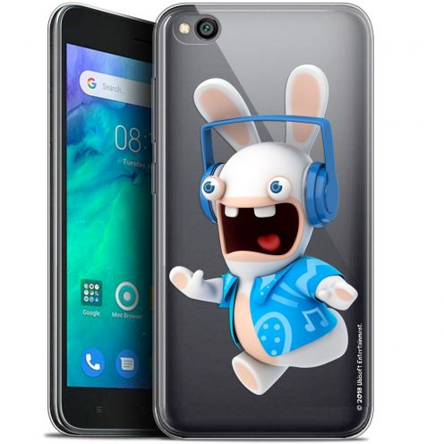 "Gel Xiaomi Redmi Go (5"") Case Lapins Crétins™ Techno Lapin"