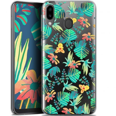"Extra Slim Gel Samsung Galaxy M20 (6.3"") Case Spring Tropical"