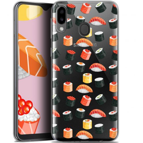 "Extra Slim Gel Samsung Galaxy M20 (6.3"") Case Foodie Sushi"