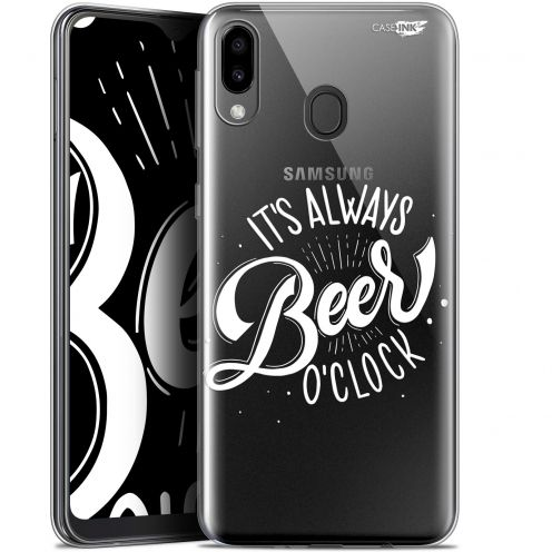 "Extra Slim Gel Samsung Galaxy M20 (6.3"") Case Design Its Beer O'Clock"