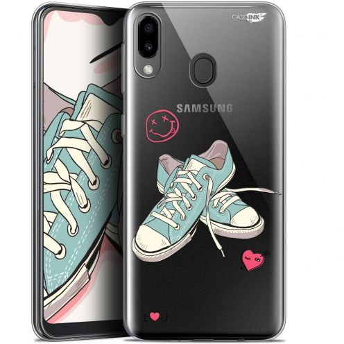 """Extra Slim Gel Samsung Galaxy M20 (6.3"""") Case Design Mes Sneakers d'Amour"""