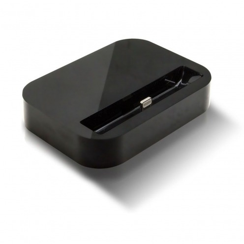 Dock station Charge & Sync for iPhone 5 Glossy black