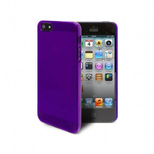 Extra Slim Crystal case for iPhone 5 / 5S / SE Purple