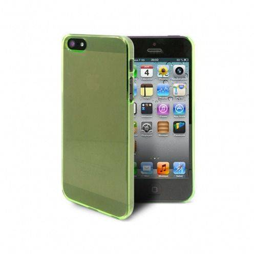 Extra Slim Crystal case for iPhone 5 Green