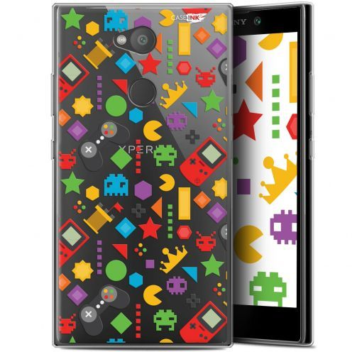 "Extra Slim Gel Sony Xperia L2 (5.5"") Case Design PacMan"