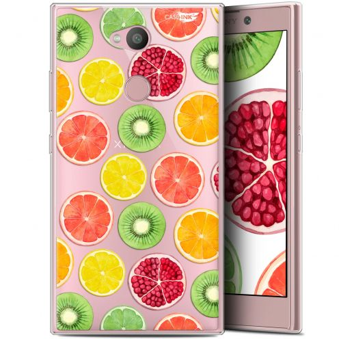 "Extra Slim Gel Sony Xperia L2 (5.5"") Case Design Fruity Fresh"