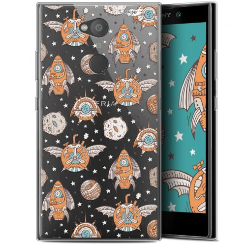 "Extra Slim Gel Sony Xperia L2 (5.5"") Case Design Punk Space"