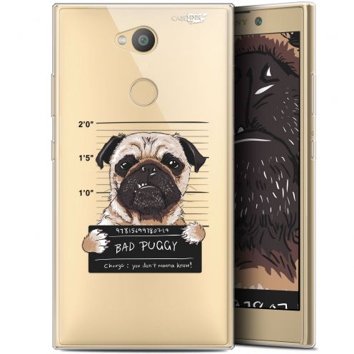 "Extra Slim Gel Sony Xperia L2 (5.5"") Case Design Beware The Puggy Dog"