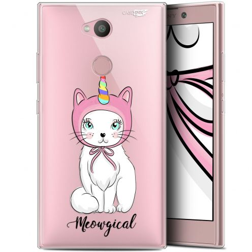 "Extra Slim Gel Sony Xperia L2 (5.5"") Case Design Ce Chat Est MEOUgical"