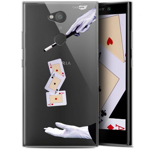 "Extra Slim Gel Sony Xperia L2 (5.5"") Case Design Cartes Magiques"