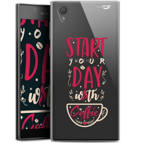 "Extra Slim Gel Sony Xperia L1 (5.5"") Case Design Start With Coffee"