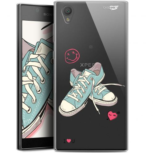 """Extra Slim Gel Sony Xperia L1 (5.5"""") Case Design Mes Sneakers d'Amour"""