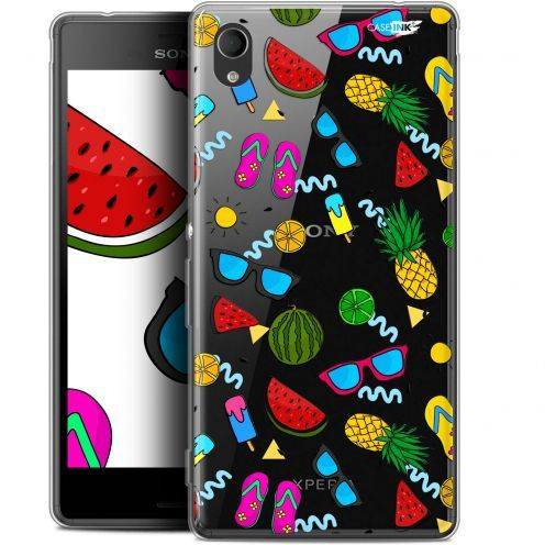 "Extra Slim Gel Sony Xperia M4 Aqua (5"") Case Design Summers"