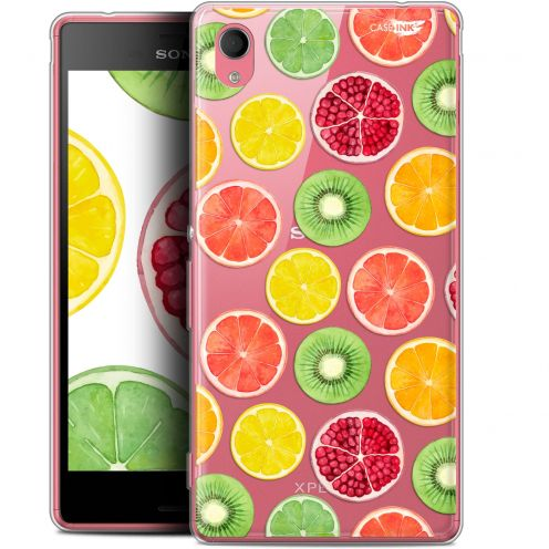 "Extra Slim Gel Sony Xperia M4 Aqua (5"") Case Design Fruity Fresh"