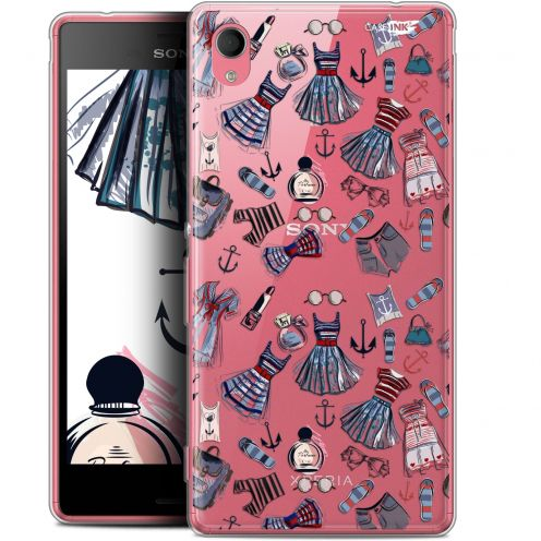 "Extra Slim Gel Sony Xperia M4 Aqua (5"") Case Design Fashionista"