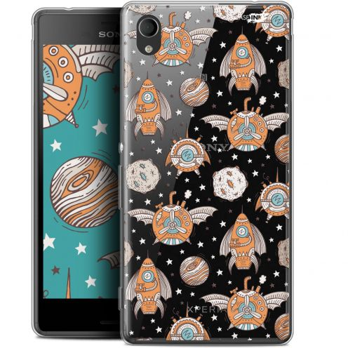 "Extra Slim Gel Sony Xperia M4 Aqua (5"") Case Design Punk Space"