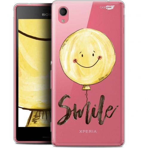 "Extra Slim Gel Sony Xperia M4 Aqua (5"") Case Design Smile Baloon"