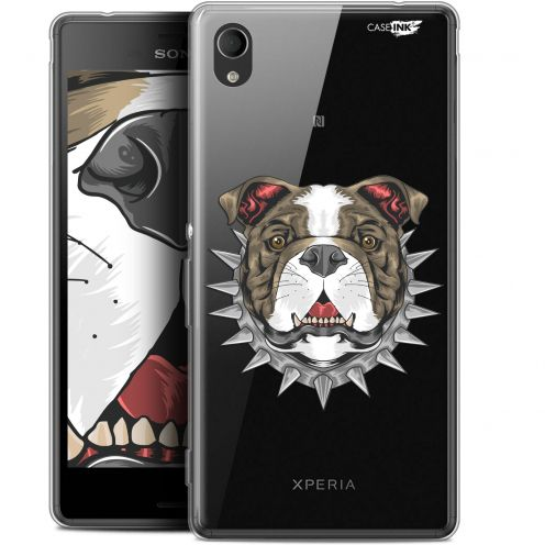 "Extra Slim Gel Sony Xperia M4 Aqua (5"") Case Design Doggy"