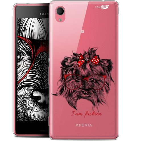 "Extra Slim Gel Sony Xperia M4 Aqua (5"") Case Design Fashion Dog"