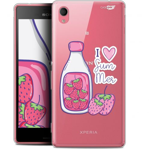 "Extra Slim Gel Sony Xperia M4 Aqua (5"") Case Design Milky Summer"