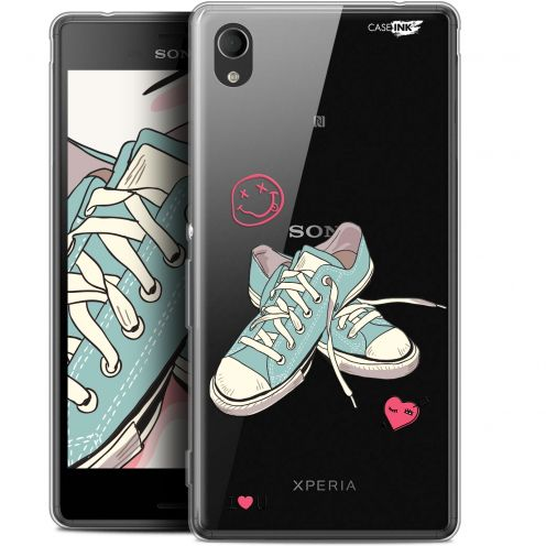 "Extra Slim Gel Sony Xperia M4 Aqua (5"") Case Design Mes Sneakers d'Amour"