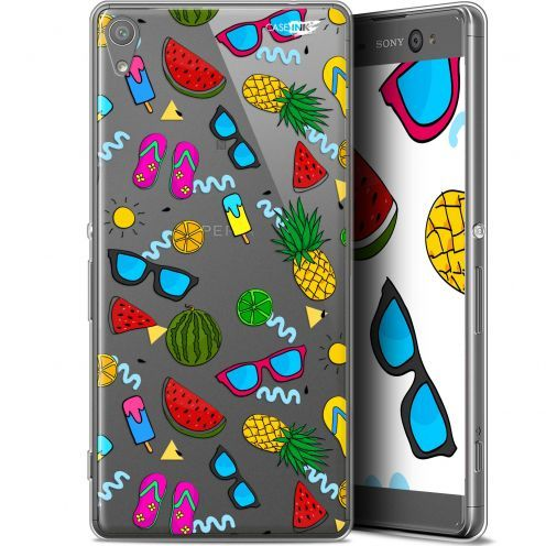 "Extra Slim Gel Sony Xperia XA Ultra (6"") Case Design Summers"