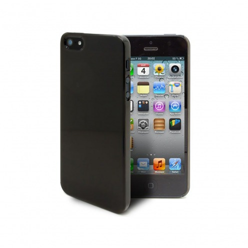 Crystal Slim Case for iPhone 5 smoked Black