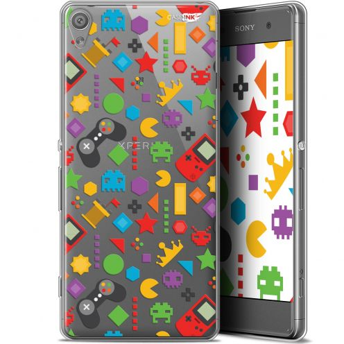 "Extra Slim Gel Sony Xperia XA (5"") Case Design PacMan"
