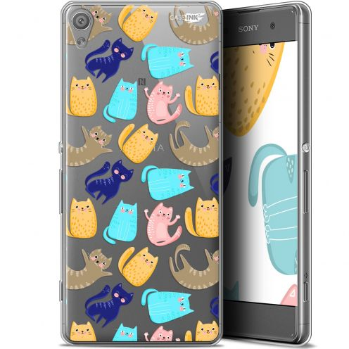 "Extra Slim Gel Sony Xperia XA (5"") Case Design Chat Danse"