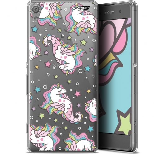 "Extra Slim Gel Sony Xperia XA (5"") Case Design Licorne Dormante"