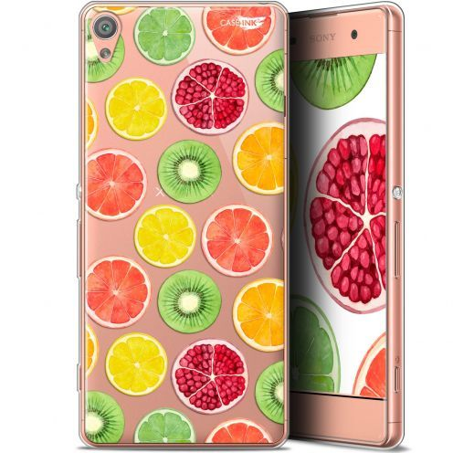 "Extra Slim Gel Sony Xperia XA (5"") Case Design Fruity Fresh"