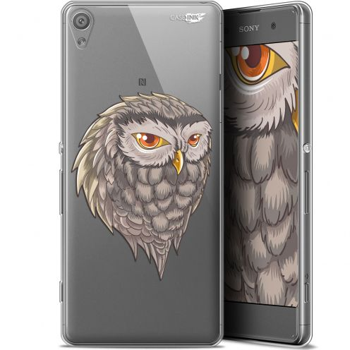 "Extra Slim Gel Sony Xperia XA (5"") Case Design Hibou Draw"